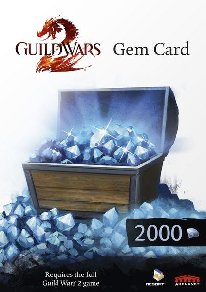 Guild Wars 2 - 2.000 Gems